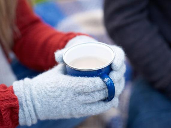 In der kalten Jahreszeit ist manchmal nichts besser als eine Tasse heißen Tee.