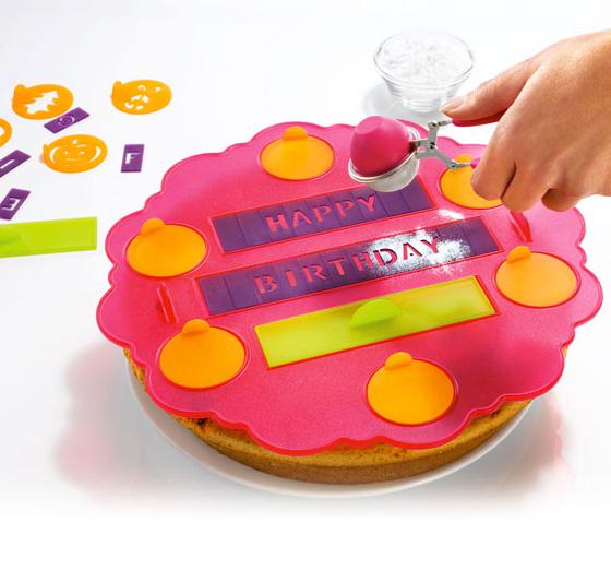 Backhelfer Torten- und Kuchen-Schablone