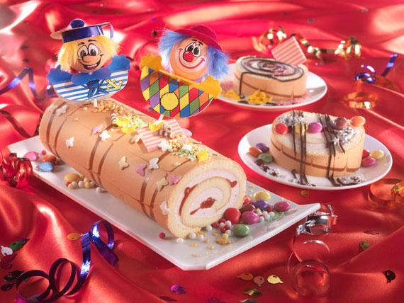Buntes Karnevals-Buffet