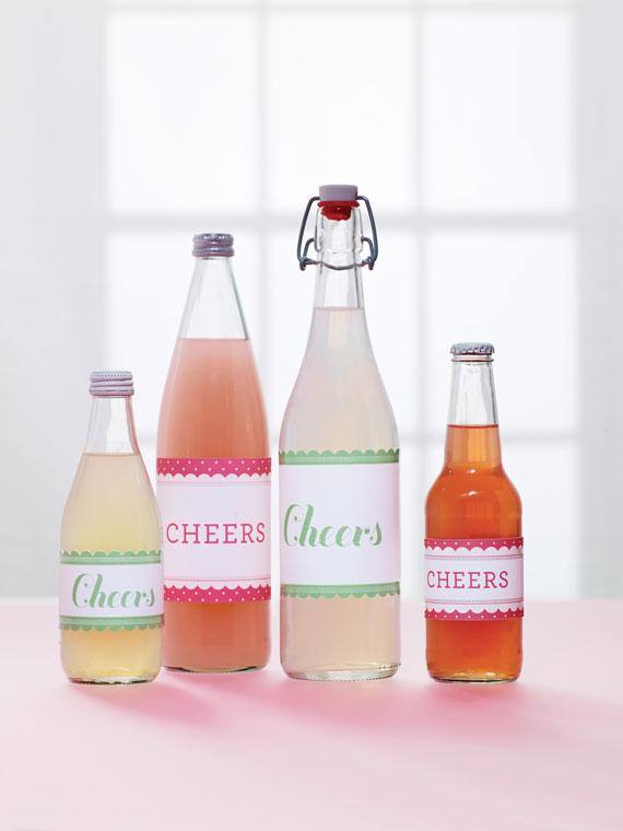 Getränke-Etiketten
