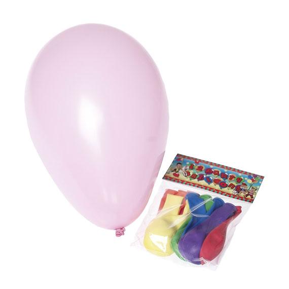 Luftballons für die Karnevals-Deko