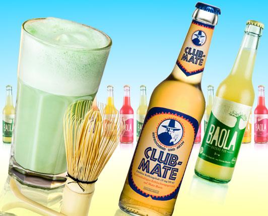 Matcha Latte, Club Mate & BAOLA-Limo: Top Sommergetränke »