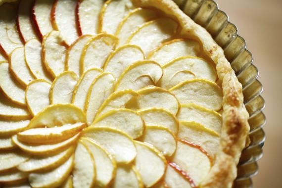 Apfel-Kuchen Tarte