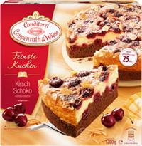 Feinste Kuchen Kirsch-Schoko Coppenrath & Wiese Verpackung