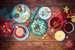 Kuchen à la Schokofondue