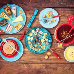 Rezept und Idee für Kuchenfondue mit Kuchen und Torte