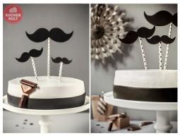 Der neue Torten-Trend: Ich trage Bart