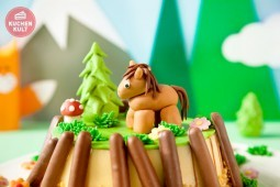 Jippieyeah! Kindergeburtstag mit Pferde-Torte und Co.