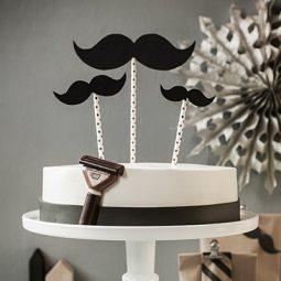 Geburtstagstorte Rezept und Inspiration für Deko mit Bart