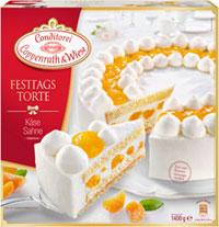 Coppenrath&Wiese Festtagstorte Käse Sahne Verpackung