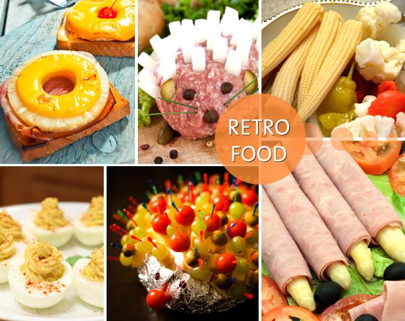 Retro Food salzig