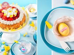 Tolle Ideen zu Ostern! Torte und Deko als farbenfrohe Akzente