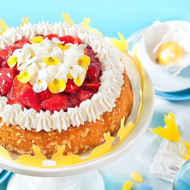 Kuchen für Ostern Rezept und Idee selbstgemacht mit toller Deko