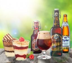 Bock auf Dessert <br>Oder: welches Bier zu welcher Nachspeise passt!