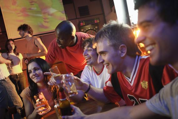 Fußball-WM-Party