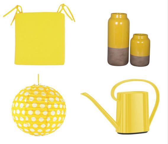 deko in gelb gelbe accessoires deko ideen f r drinnen. Black Bedroom Furniture Sets. Home Design Ideas