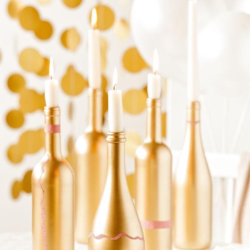 Goldene Dekoideen für den 20er Stil 3
