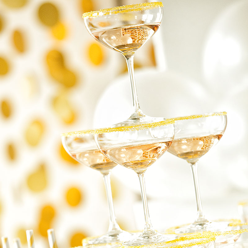 Goldene Dekoideen für den 20er Stil 4
