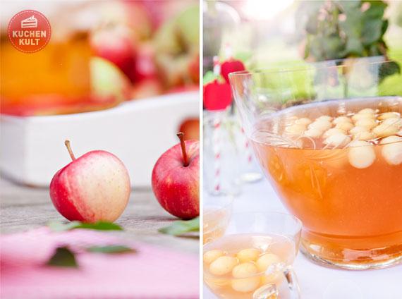 2er-Bowle-und-Apfel