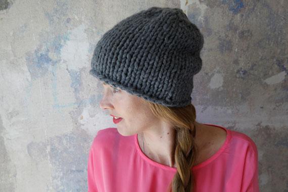 Klassiker - die selbst gestrickte Mütze