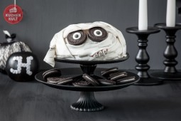 Halloween-Torte im Mumien-Style