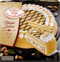 Feinste Sahne Marzipan-Torte Coppenrath & Wiese Verpackung