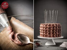 Schokoladentorte zum Geburtstag
