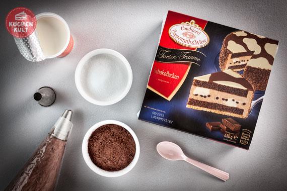 Zutaten Rezept Geburtstagstorte Torten Träume Schokoflecken Torte Coppenrath und Wiese