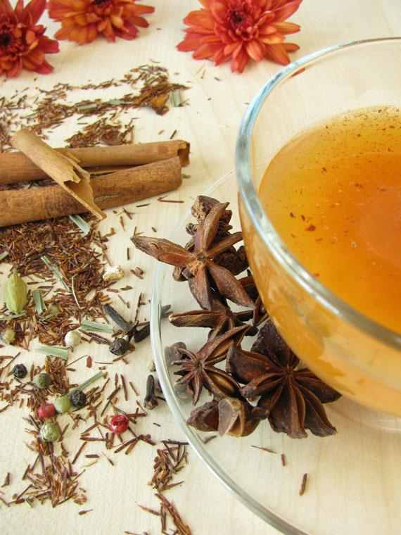 Gewürze im Chai Tee