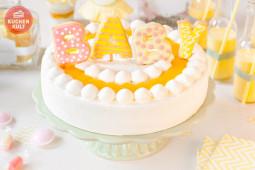 Babyparty – Torte und Dekotipps in strahlendem Gelb
