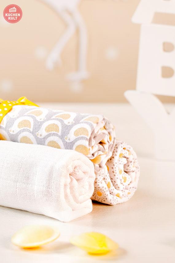 Babyshower gift idea Spücktücher