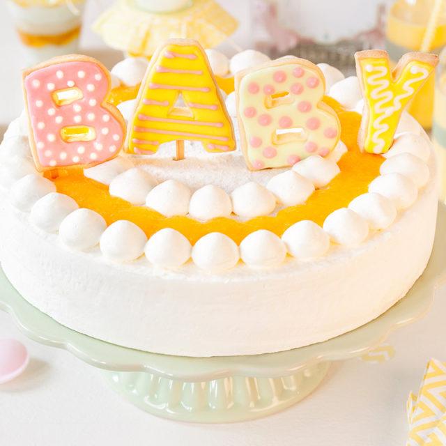 Baby Shower Torte Rezept und Idee für Babyparty