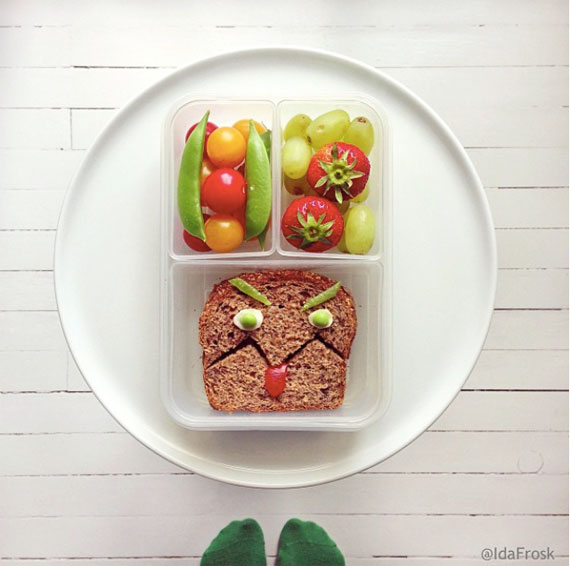 Lunchbox kreative Pausenbrote BentoBox