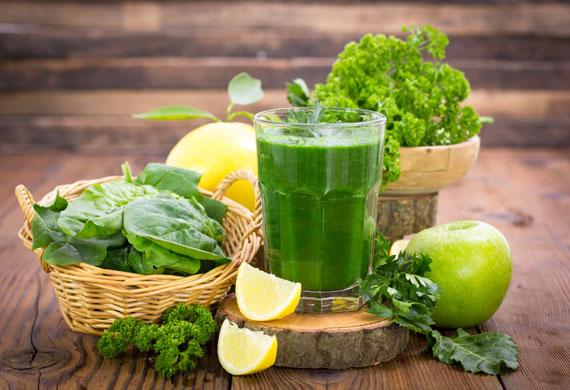 Zutaten, Rezept Green Smoothie