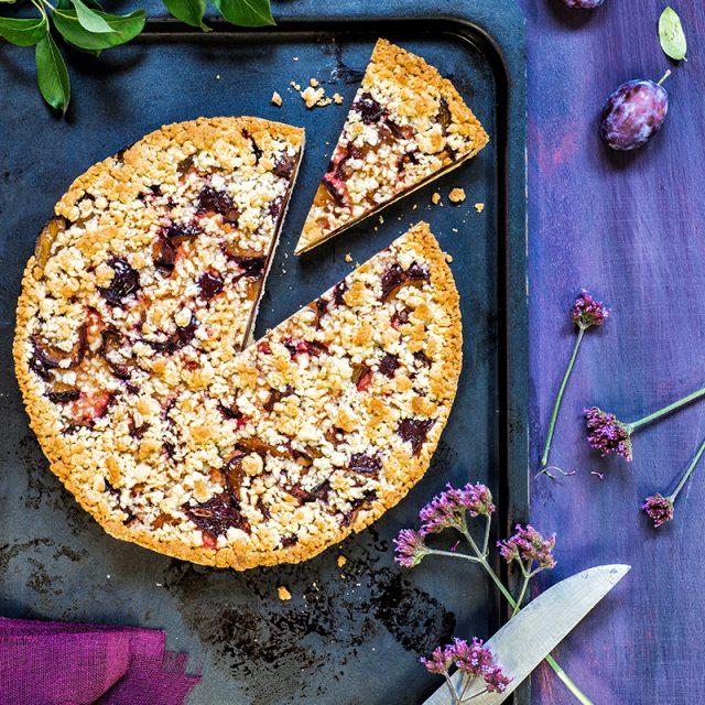 Pflaumenkuchen Rezept und Ideen vom Blech mit Deko