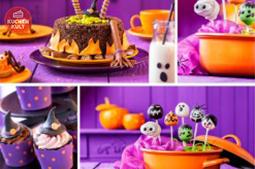 Halloween-Kuchen mit der Lizenz zum Gruseln