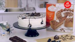 Videoanleitung: Halloween-Spinnen-Torte