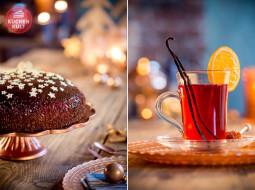 Köstlicher Advent: Zu Tisch mit Stern-Torte und Granatapfel-Punsch!
