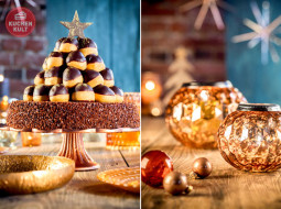 Glamouröse Weihnachtstorte – zum Feste das Beste!