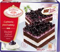Cafeteria fein & sahnig Blaubeer Joghurt Coppenrath & Wiese Verpackung