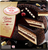 Feinste Sahne Mousse au Chocolat-Torte Coppenrath & Wiese Verpackung