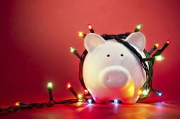 Geldgeschenk zu Weihnachten verpacken