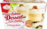 Sahne-Dessert Kleiner Augenblick Marzipan Mandel