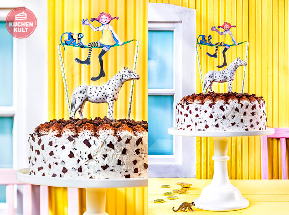 pippi langstrumpf geburtstag: torte & co für die mottoparty », Einladung