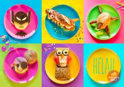 Fun Food zu Karneval – kostümierte Brötchen als Partysnack