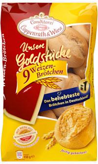 Coppenrath&Wiese Unsere Goldstücke Weizen-Brötchen