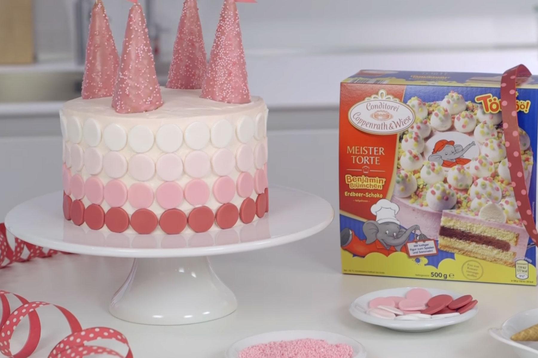 Prinzessin Kuchen Prinzessin Torte Schloss Kuchen Anleitung