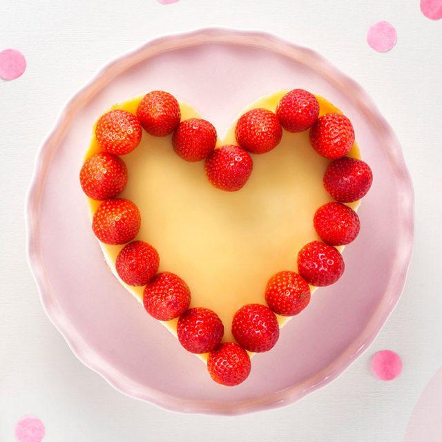 Torte zum Valentinstag Rezept für individuelle Herzdeko
