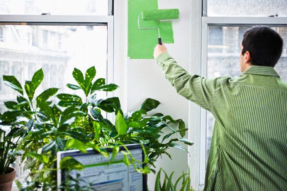 Urban Jungle Begrunte Wande Pflanzenwand Im Wohnzimmer