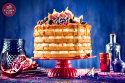 Ethno-Hochzeit – Farbenpracht trifft Torte